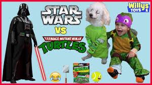 Radio Flyer Turtle Riding Toy Ninja Turtles Vs Star Wars Epic Battle Darth Vader Blind Bag