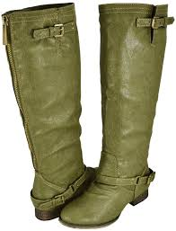 womens boots green breckelle outlaw 11 green boots