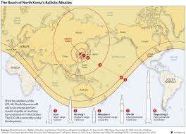 Africa Map Test by North Korea U0027s Nuclear Test Shows Gaps In Missile Defense