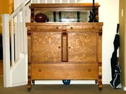 oak server sideboard oak buffet server sideboard antique tiger oak