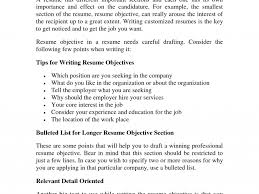 Resume Objective For Part Time Job by Stunning Design Objective Part Of Resume 16 Professional