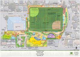 Clu Campus Map Cutino Park Improvement Project Seaside Ca