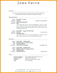 employment resume template resume exles programmer employment education skills graphic