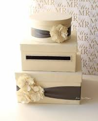 wedding card design rectangle money box creation