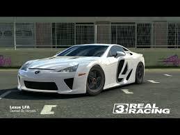 lexus lfa racing racing 3 lexus lfa fully upgraded