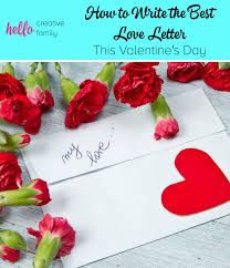 how to write the best love letter this valentine u0027s day hello