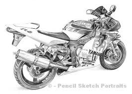 drawings of aircraft trains motorcycles trucks buildings