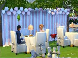 wedding arches in sims 4 wedding lot by pilar at simcontrol sims 4 updates
