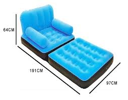 single seat 5 in 1 inflatable sofa bed on sale manufacturers