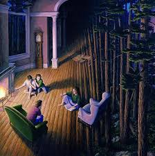 rob gonsalves has some really cool paintings album on imgur
