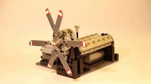 Rolls Royce Griffon Mk58 Lego Technic Model Youtube