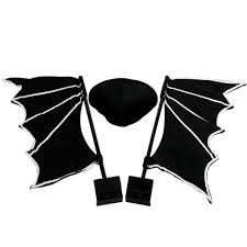 halloween black bat halloween car costume the green head image