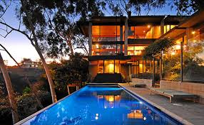 cool house for sale luxury glass home in los angeles with valley views for sale for
