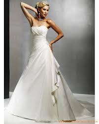 robe mari e originale robe simple en satin ornée de plis robe de mariée originale