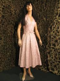 1950 u0027s period u s commerically made pink and silver color