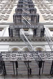 fire escape stairs canal street new york city fire escape