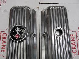 lt1 corvette valve covers 69 77 corvette camaro polsihed lt1 z28 finned aluminum valve
