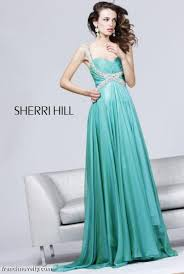 sherri hill long prom dress with beaded straps 3844 french novelty