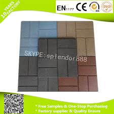 Recycled Rubber Patio Tiles by China Rubber Mat Rubber Floor Rubber Flooring Supplier