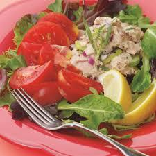Tuna Salad Mediterranean Style Tomato Tuna U0026 Tarragon Salad Recipe Eatingwell