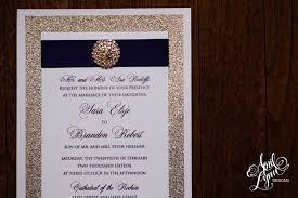 Bling Wedding Invitations Sara Brandon U0027s Wedding Invitation Suite April Lynn Designs