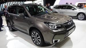 subaru viziv interior 2016 subaru forester awd luxury exterior and interior geneva