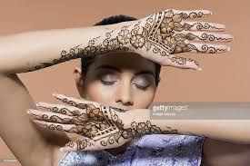 henna tattoo stock photos and pictures getty images