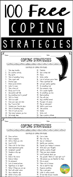 Coping Skills For Anxiety Worksheets 2671 Best Enjoy Be Images On