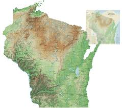 Wisconsin landscapes images Wisconsin geological natural history survey ice age geology gif