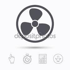 Air Ventilator Price Ventilation Icon Air Ventilator Or Fan Sign U2014 Stock Vector