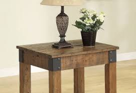 table beautiful wooden side tables log side table sanded and