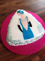 Art Deco Cake Tutorial with Free Stencil Template