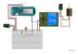 arduino mkr1000 android relay u003d christmas gift lock arduino