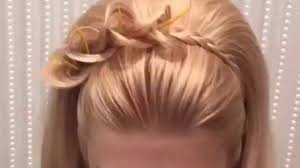 Simple And Cute Hairstyle by Easy And Cute Hairstyle Must Watch Video Dailymotion