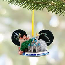 walt disney world ear hat ornament with tinker bell the happiest