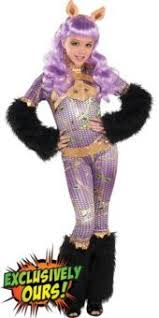 Halloween Monster Costumes Monster Classic Clawdeen Wolf Costume Girls Party