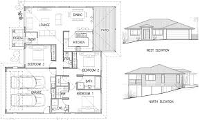 house with floor plans and elevations house plan elevation house plans 2729