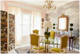 dining room wall murals rosa beltran design one room challenge project parisian chic
