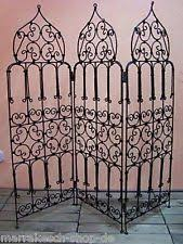 Wrought Iron Room Divider by Oriental Room Divider Screen Ebay