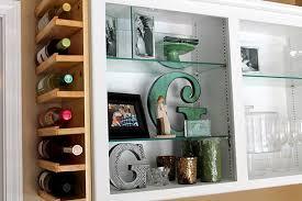 liquor wine cabinet storage cube shape wine rack black color wine