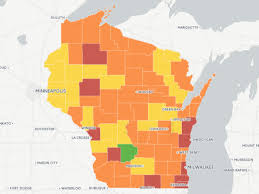 Weather Map Wisconsin by Voter Turnout Drops In Most Wisconsin Counties
