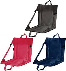 Seat Cushions Stadium Folding Stadium Seat Cushion With Backrest