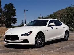 maserati ghibli sedan used 2015 maserati ghibli base for sale in los angeles ca