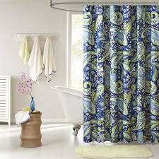 Blue And Green Shower Curtains Shower Curtains Rods Hearts Attic