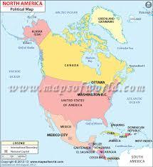 capital of canada map america political map depicting international boundaries