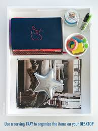 Organize Your Desk by Organize Your Desk The Chic Site