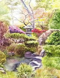 San Francisco Golden Gate Park Japanese Tea Garden Irina
