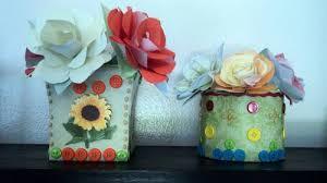 Tin Flower Vases Tin Flower Vases Craftster Craft Challenges