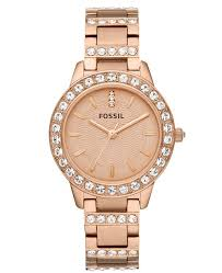 bracelet watches fossil images Fossil women 39 s jesse rose gold tone stainless steel bracelet watch tif