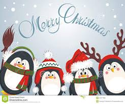Cute Christmas Meme - merry christmas cute penguins stock vector illustration of nordic